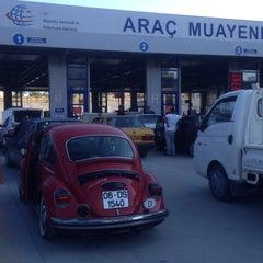 Photo taken at TÜVTÜRK Araç Muayene İstasyonu by Melih A. on 7/21/2015