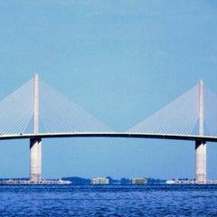 Photo taken at Sunshine Skyway Bridge by Imagebrite M. on 11/19/2012