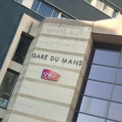 Photo taken at Gare SNCF du Mans by Aurelie on 6/1/2013