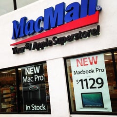 Photo taken at MacMall Retail Store by Chris Q. on 3/2/2014