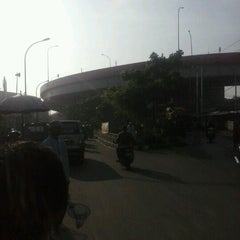 Photo taken at Flyover Ciputat by Raihan A. on 2/10/2013
