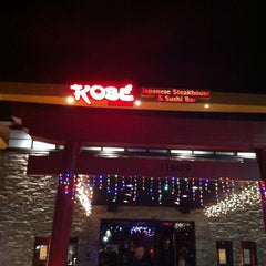 Photo taken at Kobe Japanese Steakhouse & Sushi Bar by Kate S. on 12/28/2012