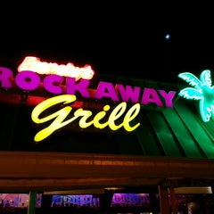 Photo taken at Frenchy's Rockaway Grill by Christopher L. on 10/14/2013