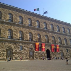 Photo taken at Palazzo Pitti by Charlotte C. on 7/24/2013