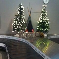 Photo taken at Kittilä Airport (KTT) by 🐾Наташенька🐾 on 12/27/2012