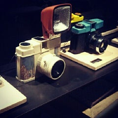 Photo taken at Lomography Gallery Store Santa Monica by Polina L. on 11/25/2012