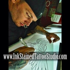 Photo taken at Dongan Hills by Inkstained Tattoo Studio on 5/15/2014