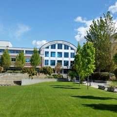 Photo taken at Douglas College (David Lam Campus) by Dorothy W. on 5/7/2015