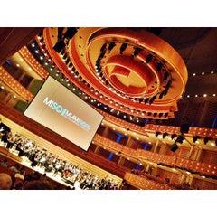 Photo taken at Ziff Ballet Opera House by Daniel Z. on 3/9/2015