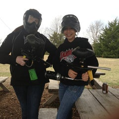 Photo taken at Official Paintball by Brooke M. on 3/17/2013