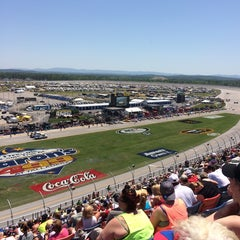 Photo taken at Talladega Superspeedway Allison Grandstands by Ed A. on 5/4/2014