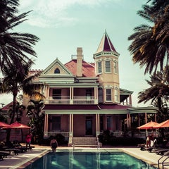 Photo taken at The Southernmost House by Tomas P. on 7/16/2015