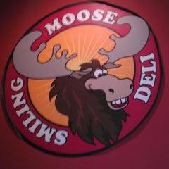 Photo taken at Smiling Moose Deli by Mitch C. on 4/11/2013