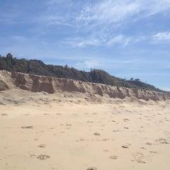 Photo taken at Playa Las Redes by Carolina C. on 4/21/2012