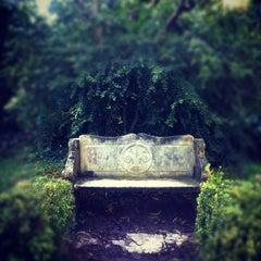 Photo taken at Shakespeare Garden by Caroline W. on 12/9/2012