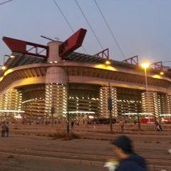 "Photo taken at Stadio San Siro ""Giuseppe Meazza"" by Senza v. on 9/22/2013"