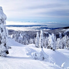 Photo taken at Seymour Mountain by Victor F. on 1/2/2013