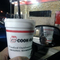 Photo taken at Cookout by Duane C. on 11/10/2012