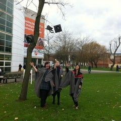 Photo taken at Teesside University Student Union by Sarah H. on 11/22/2012