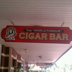 "Photo taken at The ""World Famous"" Cigar Bar by Alan G. on 11/9/2012"