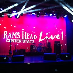 Photo taken at Rams Head Center Stage by Deena D. on 11/15/2012