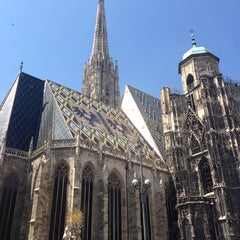 Photo taken at Stephansdom | St. Stephen's Cathedral by Lissy J. on 7/17/2013