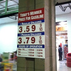 Photo taken at Costco Gasoline by Christina H. on 12/4/2012