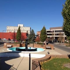 Photo taken at Downtown Springfield by Chris G. on 11/9/2013