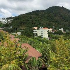 Photo taken at Alpina Phuket Nalina Resort And Spa by Anna U. on 1/7/2015