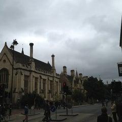Photo taken at Oxford University Examinations Schools by Osman K. on 9/15/2013