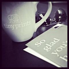 Photo taken at Tiny Prints by Jennie on 6/18/2013