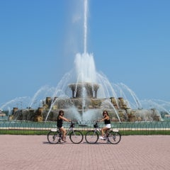 Photo taken at Grant Park by Jennie on 8/28/2013