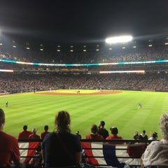 Photo taken at The Braves Chop House by Jason C. on 4/11/2015