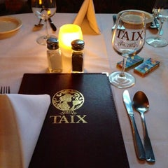 Photo taken at TAIX French Restaurant by Suzie C. on 5/23/2013