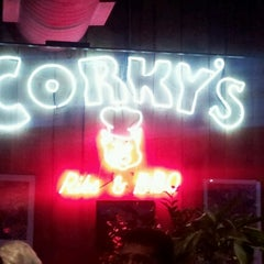 Photo taken at Corky's BBQ by Cyrene Q. on 11/18/2012