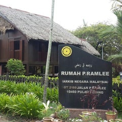 Photo taken at P. Ramlee's House by Ash on 5/31/2015