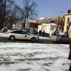 Photo taken at Остановка «Сакко и Ванцетти» by Алексей К. on 3/21/2013
