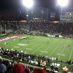 Photo taken at Nippert Stadium by Steve N. on 11/24/2012