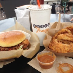 Photo taken at Googie Burger by Jenice R. on 11/30/2012