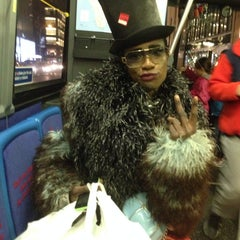 Photo taken at MTA Bus M57 by Geraldine V. on 11/9/2013