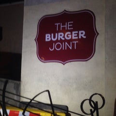 Photo taken at The Burger Joint by Joseph D. on 7/3/2015
