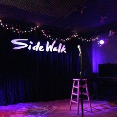 Photo taken at Sidewalk Cafe by Erin O. on 1/25/2013
