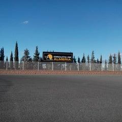 Photo taken at Circuito De Almería by Eddy M. on 3/8/2014