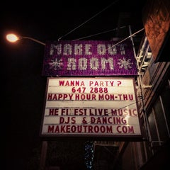 Photo taken at Make-Out Room by James T. on 11/29/2012