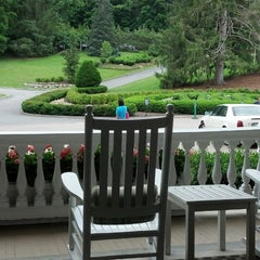 Photo taken at The Front Porch at The Homestead by Kris T. on 6/11/2013