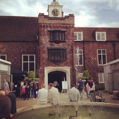 Photo taken at Fulham Palace Gardens by Eoghan H. on 5/19/2013