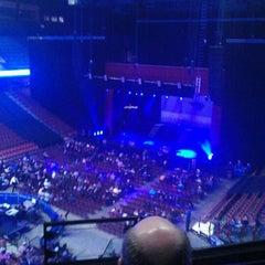 Photo taken at Mohegan Sun Arena by Sarah B. on 1/13/2013