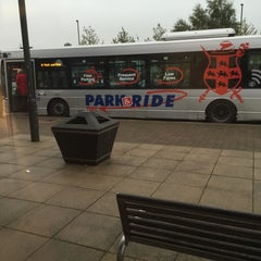 Photo taken at Monks Cross Park & Ride by Chris K. on 10/6/2015