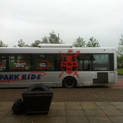 Photo taken at Monks Cross Park & Ride by Chris K. on 6/3/2014