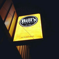 Photo taken at Bill's Pizzeria by Anna B. on 12/26/2012
